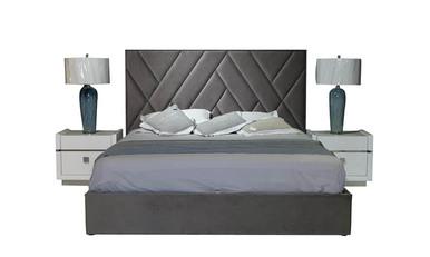 Ліжко 1,8 СТЕЛЛА сіре